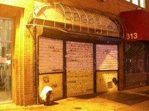 CBGB Closed Down