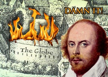 The Globe Theatre Burns Down in 1613